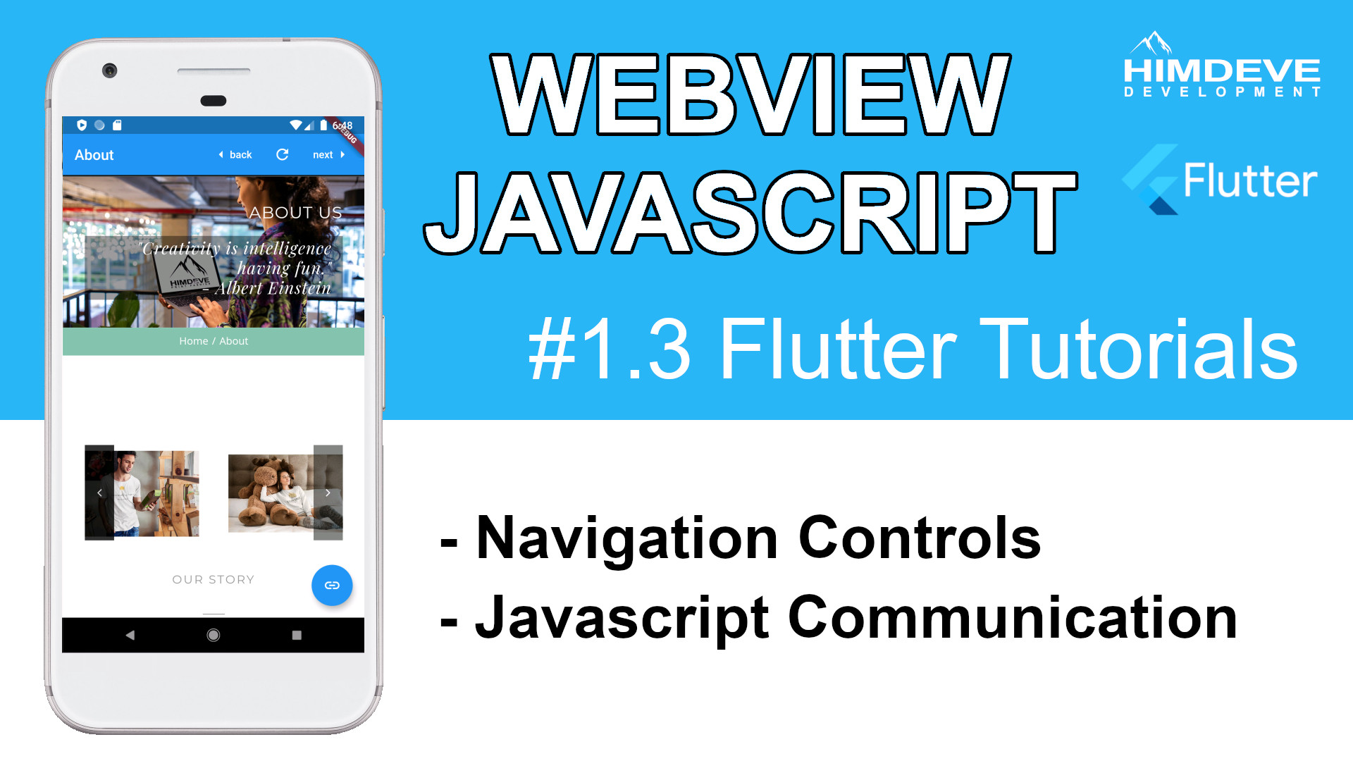 #1_3 Webview Javascript Flutter Tutorials