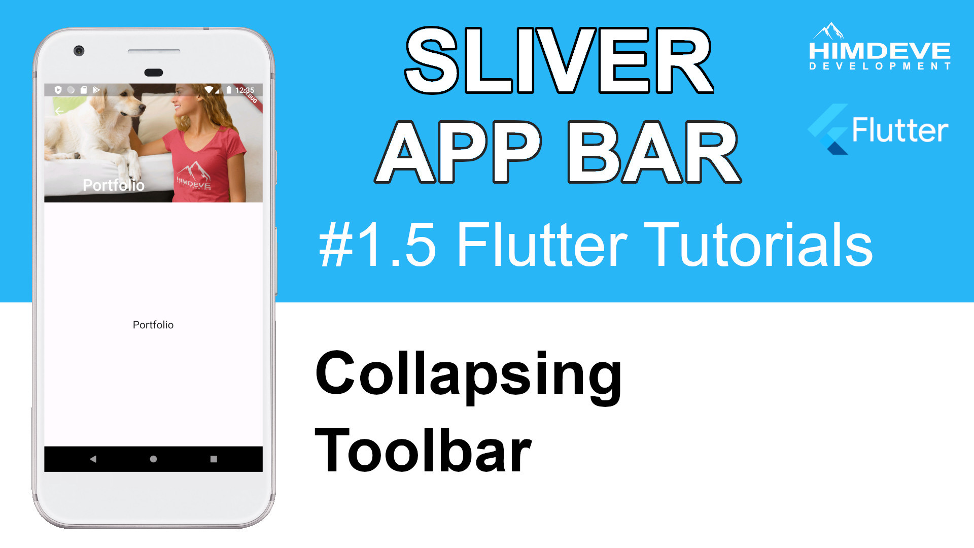 #1_5 Sliver App Bar Flutter Tutorial