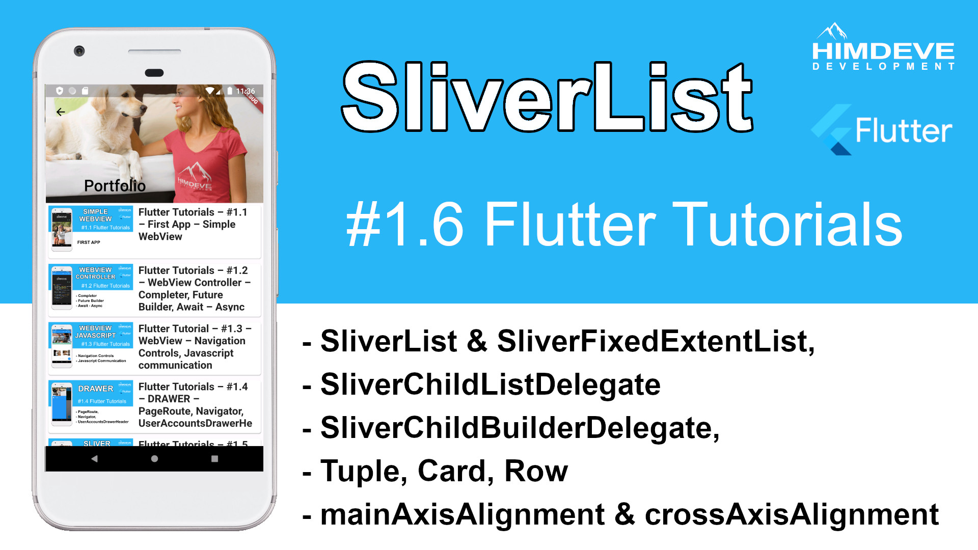#1_6 SliverList Flutter Tutorial