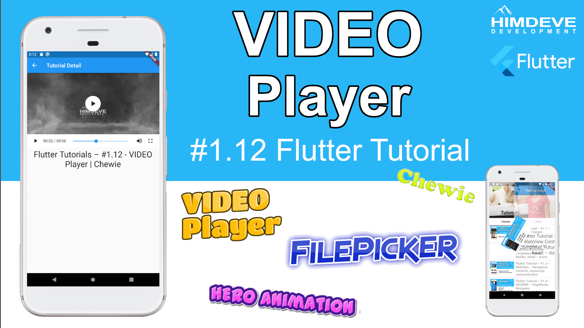 Himdeve tutorial 1.12 - video player